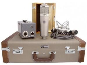 Microfone de Tubo Telefunken U47